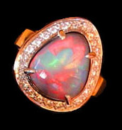 opals cost,ladies opal ring