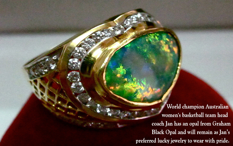 Opal ring,limited heritage opals certificate,gems from the only heritage mine.