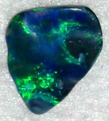 Green Blue Opal Picture Gemstone Birthstone October Custom Jewellers