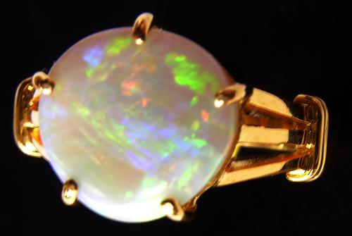 ring opal,opal ring