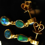 opal earrings, earings,jewellery