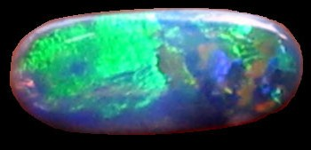black opal,green orange black opal,opal gemstone,custom jewellers
