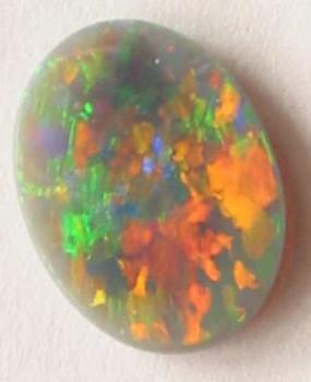 australian red orange opal,red orange color opal,gemstone