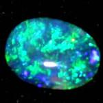 very good opal, stone australian opal