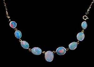 handmade opal necklace,jewelry,hand made opal necklace,necklace