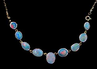 handmade opal necklace, jewelry, ear rings Silver,hand made opal necklace