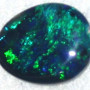 bright opals,Lightning ridge green colour opal gemstone
