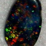 fire black opal,fire opal