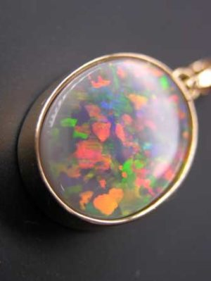 black opal jewelry,opal pendant,opal goldsmith jewelry