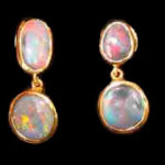 australian opal earrings,opal earrings ,opal jeweler