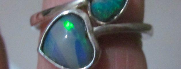 Opal Rings Handmade, Opal Jewelry Handmade.