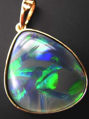 Opals from official government heritage site in australia australian opal pendantopal pendantjewelry with opalspendantopal necklace aloadofball Image collections