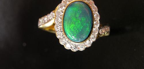 History Black Opals From Australia.