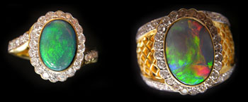 australian opal rings,opal ring,opal jewelry
