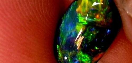 Australian National gemstone opals.
