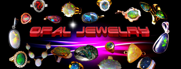 Black Opal Jewelry Handmade Opal Rings.