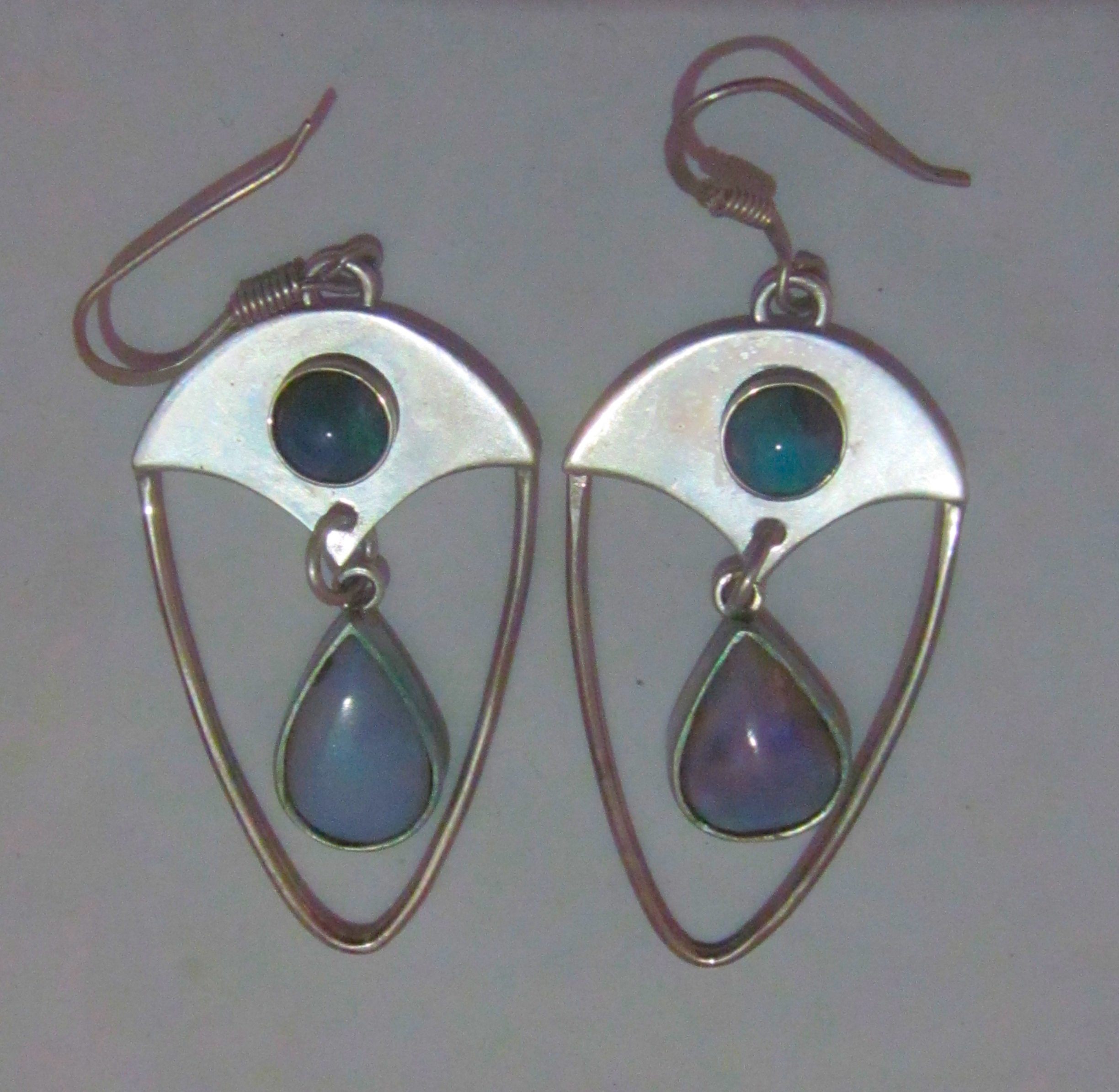 australian opal earring,black opal earrings,earring jewelry,handmade earrings,opal earrings