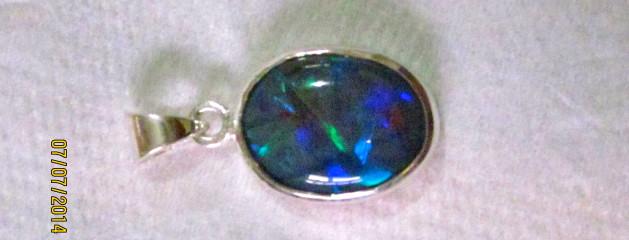 Opal jewellery store.