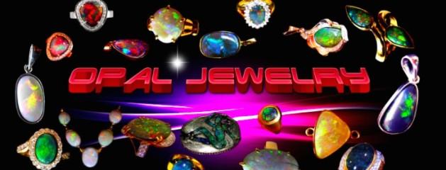 Opal jewelry Custom Made.
