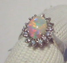 Custom Opal Engagement Rings. Handcrafted Opal Engagement Rings.