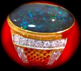Selling Opal Rings.