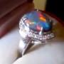 rings with australian opals,handmade opal rings, handmade opal jewelry, handmade opal ring, handmade black opal rings