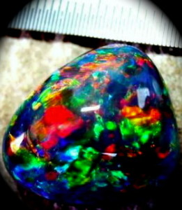 red opals ,red black opal