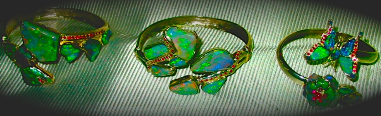 Unique opal bracelet,unique opal jewelry,unique opal diamond rings,unique opal rings,unique black opal rings