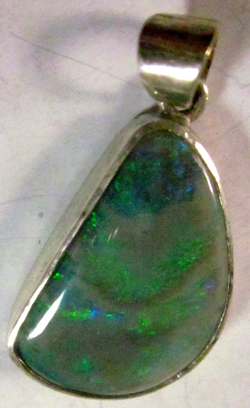 custom opal jewelry, opal necklace
