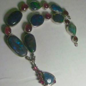 silver opal jewelry,opal jewelry,custom opal jewelry