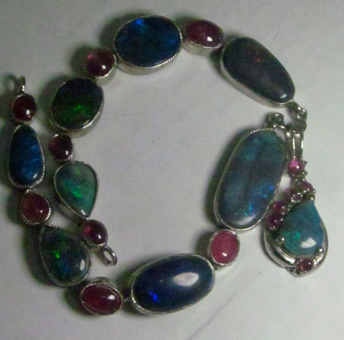 Jewelry opal necklace,opal jewelry