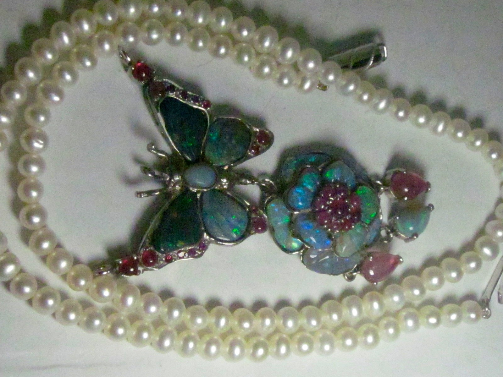 opal necklace,jewelry handmade