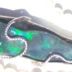 opal silver jewelry