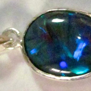 opal necklace,opal jewelry handmade