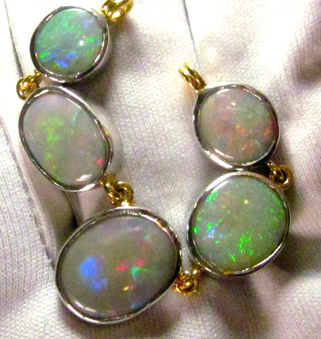 opal necklace,opal jewelry