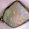 silver opal necklace,silver opal pendant, Australian opal pendant,silver opal necklace handmade