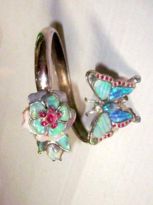 Opal bracelet sale,opal bracelet, handmade opal bracelet, custom opal bracelet