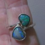 opal ring,black opal rings