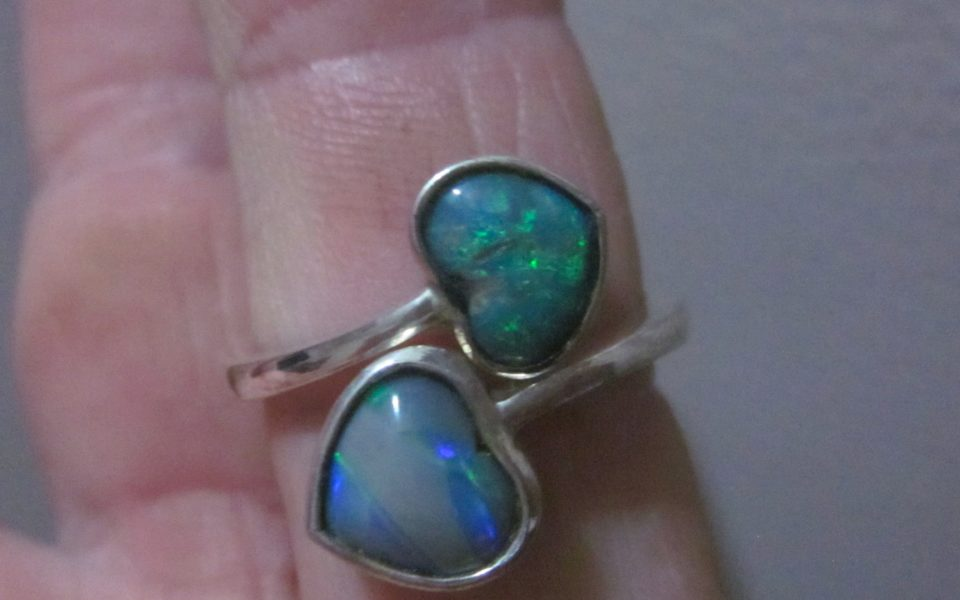 Opal rings priced wholesale $126