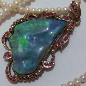 Australia opal jewelry,opal pendent
