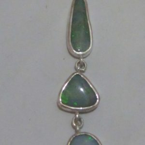 opal pendent,pendent with opals