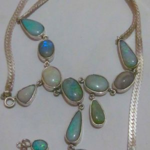 pendent with opal
