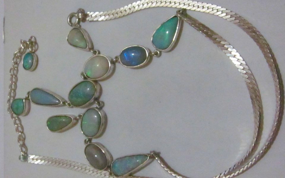 Pendant & Opal Solid Sale Only $241 Special.