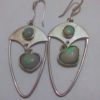 opal earrings, fire opal,opal stone, australian opal