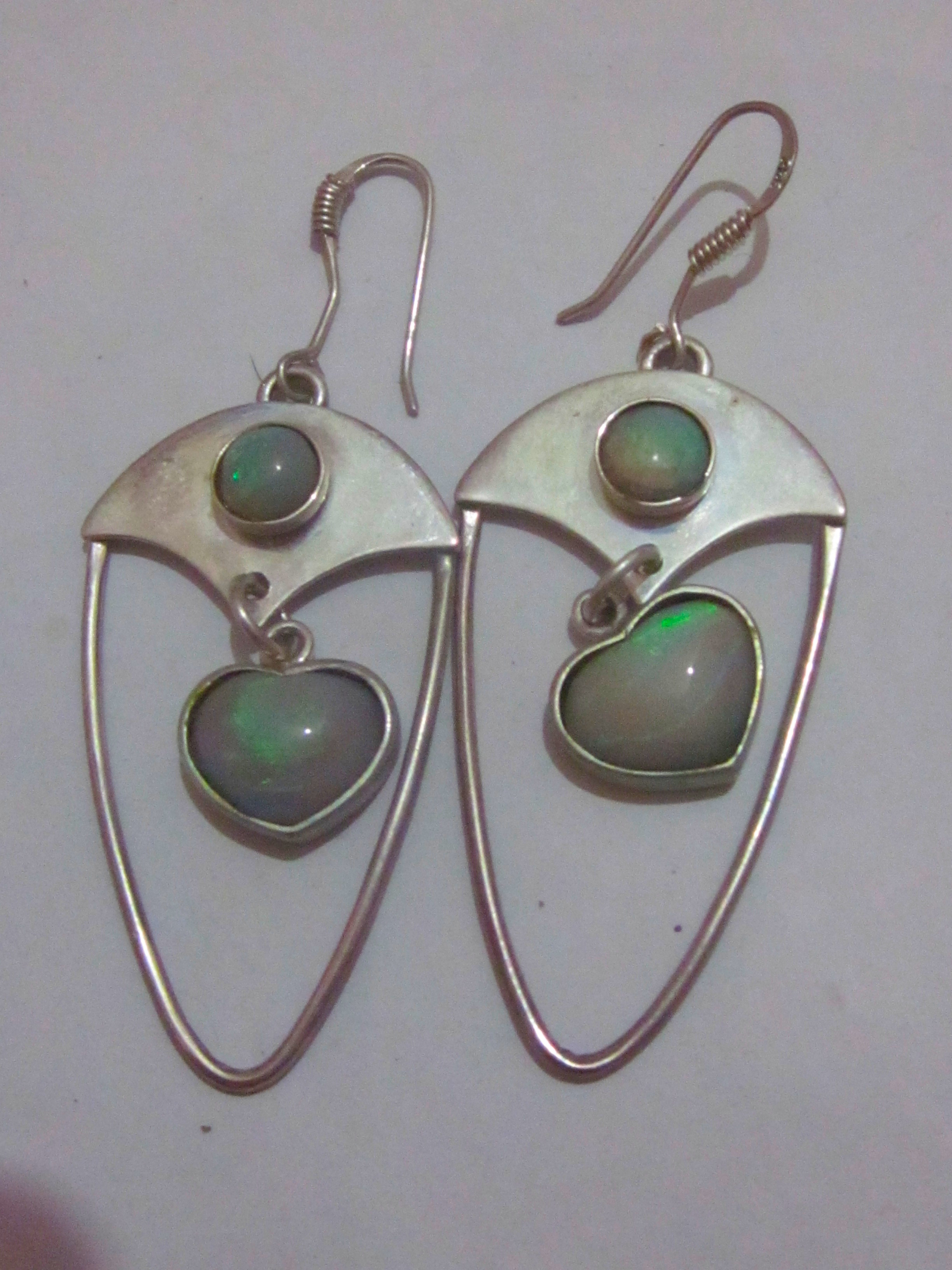 australian opal earring opal earringsblack opal earrings