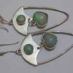 jewelry stores,opal earrings