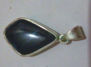 black opal pendent