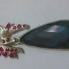 pendent black opal