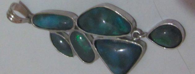 Jewellery Opals and Diamond.