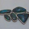 Black opal jewellery